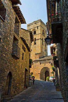 Ainsa, Huesca España.