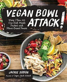 Sweet and smokey corn chowder from the Vegan Bowl Attack cookbook! Vegan and gluten free.