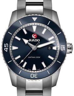 Rado Watches R32501203, 45 mm, 200 m, ETA auto, titanium case