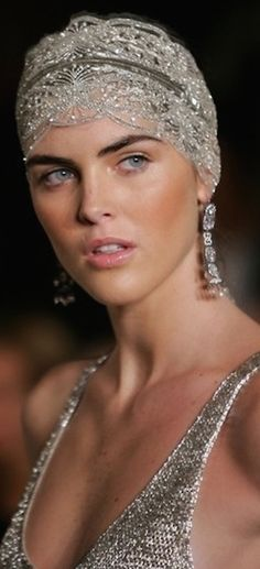 Gorgeous crystal headpiece.