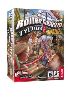 Rollercoaster Tycoon 3: Wild! Expansion - PC Atari