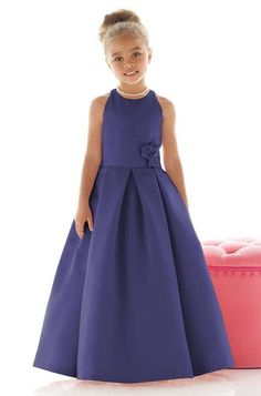 Dessy Fl4022 Flower Girl Dress | Weddington Way