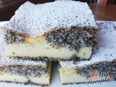 Czech Recipes, Ethnic Recipes, Hungarian Desserts, Oreo Cupcakes, Cake Bars, Something Sweet, Desert Recipes, Blondies, Fudge