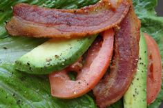 Avocado BLT Wrap