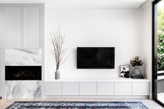 Check the result of our complete home renovation and extension in St Kilda East.See the images of the house after revamping. Living Room Tv Unit, Home Living Room, Living Room Designs, Living Room Decor, Living Spaces, Painel Home, House Extensions, Home Renovation, Home Interior Design