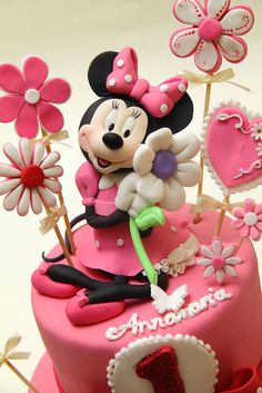 1000 Images About Minnie Mouse Cake On Pinterest Minnie