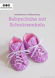 Süße Babyschuhe mit Schnürsenkeln