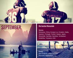 Reiseziel September