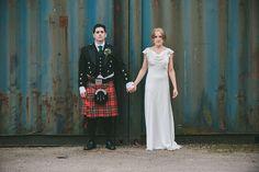 An Elegant Halfpenny London Gown for an Art Deco Inspired Celtic wedding | Love My Dress® UK Wedding Blog