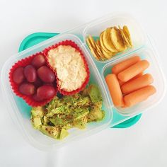 Late office lunch today that's probably too close to dinner. Does that happen to you too?    Office lunch: mayo-less creamy egg salad, avocado with creole seasoning, plantain chips. #easylunchboxes