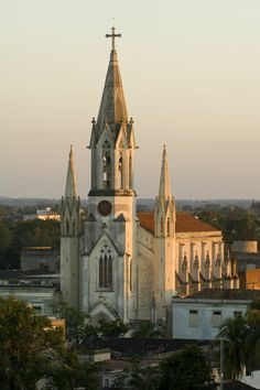 Sagrada Corazon Iglesia, Plaza de la Juventud, Camaguey, Cuba
