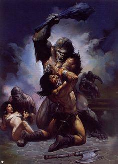 Ken Kelly 089 Conan the Barbarian
