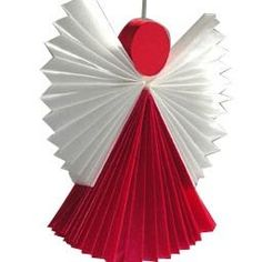 engel basteln kinder - Paper angel - I'll have to try this sometime.