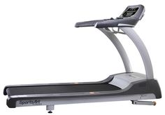 """The SportsArt Fitness T652M Treadmill has 5.0 hp ECO-POWR™ motor uses up to 32% less energy without compromising power. CardioAdvisor™ displays heart rate information and goals. 22"""" x 61"""" running surface. Contact and telemetry heart rate. Entertainment bracket compatible."""