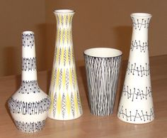 Vases by Jessie Tait for Midwinter