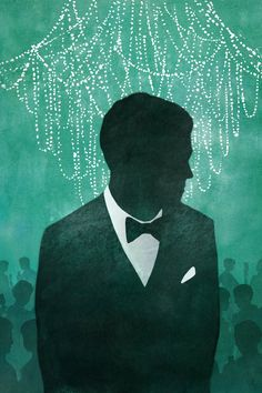 The Great Gatsby (2013) | After seeing the movie trailer, artist alyssascott reread the novel and then created this artwork she shared at deviantart.com