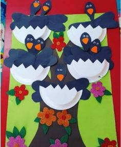 23 Best Crow Craft Idea For Kids Images Raven Day Care Crafts