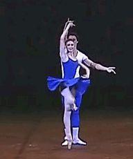 Svetlana Zakharova and Artem Shpilevsky in 'Class Concert', Bolshoi Ballet 2007.