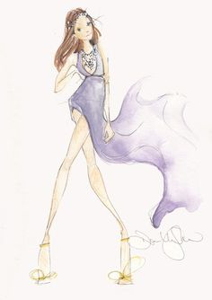 Fashion Illustrations by Dallas Shaw on Haute - A Toronto Fashion and Lifestyle Blog - hautecanada.com - 5