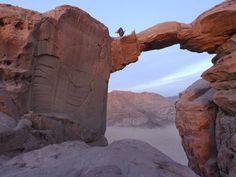 7+Wonders+Of+The+World+National+Geographic | Photo: Burdah Arch in Wadi Rum