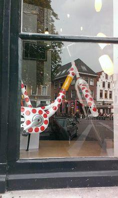 Dots in Town Hall Utrecht