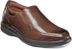 301c25664ec Nunn Bush Myles St. Men s Moc Toe Slip On Dress Shoes