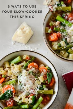 5 Spring Crock-pot Recipes via @PureWow