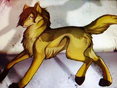My profile picture anime wolf