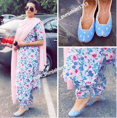 Pinterest ● @bhavi91 Designer Punjabi Suits Patiala, Punjabi Suits Designer Boutique, Patiala Suit Designs, Indian Designer Suits, Indian Attire, Indian Wear, Indian Outfits, Indian Dresses, Punjabi Fashion