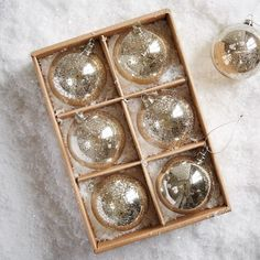 Ornaments from West Elm