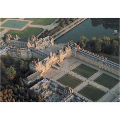 Château de Fontainebleau ~ France ~ Located outside the city of Paris, it served as a royal residence for 800 years.  It was a former hunting lodge and has been in use since the 12th century.  Francis I erected most of the present day buildings.  King Henry II, Catherine de Medici & King Henry IV added to the chateau.  The palace is one of the largest French royal chateaux.    Emperor Napoleon added to its grandeur and it is where Napoleon abdicated his emperorship before being exiled to…