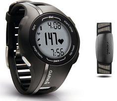 ¡Oferta! Reloj GPS Garmin Forerunner 210 HRM con monitor de ritmo cardíaco por 125 euros.