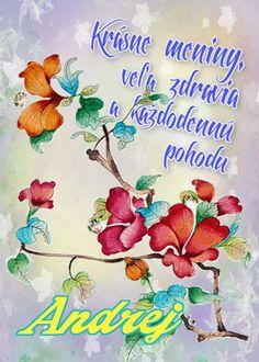 Andrej Krásne meniny, veľa zdravia a každodennú pohodu