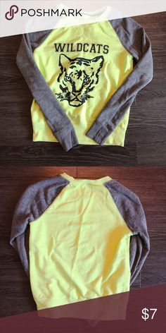 Yellow top - in very good condition  💛Product color may slightly vary due to photographic lighting sources or your monitor settings  ✅I DO love OFFERS 😆 ❎No returns  ❎No trades  💖Feel welcome to check out everything else in my closet, and bundle them together ☺️ Tops Tees - Long Sleeve