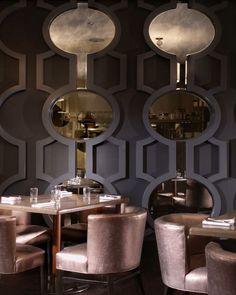 The New Orleans' Hyatt Regency Hotel.. (The Nolita Chair by Jamie Stern Design) | Interior: Hospitality - Restaurant, Cafe, Club & Bar | Pinterest