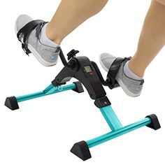Vive Desk Cycle - Foot Pedal Exerciser - Foldable Portable Foot, Hand, Arm, Leg Exercise Pedaling Machine - Folding Mini Stationary Bike Pedaler, on Best Bike 8615 Desk Workout, House Workout, Physical Therapy Exercises, Keto, Reduce Belly Fat, Lose Belly, Low Impact Workout, Fat Burning Workout, Burn Calories