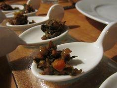Lentil + Swiss Chard Appetizer Spoons