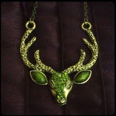 Long antler necklace. Long antler necklace. Jewelry Necklaces