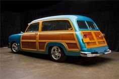 Custom Ford Hot Rod Woody Wagon Up for Grabs - autoevolution for Mobile Vintage Cars, Antique Cars, Vintage Iron, Beach Wagon, Counting Cars, Woody Wagon, And So It Begins, Wooden Car, Shooting Brake