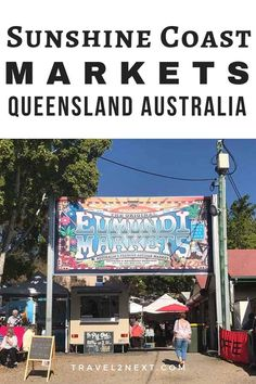 Queensland, Australia: The concept of the local market has gained momentum throughout the Sunshine Coast and there are some excellent Sunshine Coast markets to explore. Perth, Brisbane, Melbourne, Sydney, Australia Tourism, Coast Australia, Visit Australia, Queensland Australia, Western Australia