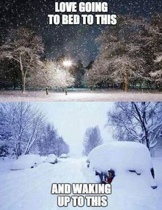 Love going to bed to this and waking up to this winter christmas christmas quotes winter quotes christmas pics christmas image quotes christmas quotes and sayings I Love Snow, I Love Winter, Snow Fun, Winter Fun, Winter Snow, Winter Christmas, Christmas Pics, Winter Magic, Winter Season