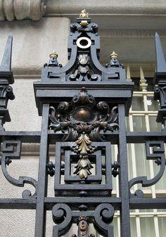 STEEL | СТАЛЬ Classic Fence, Steel Frame Doors, Steel Gate, Wrought Iron Gates, Grill Design, Iron Art, Acanthus, Blacksmithing, Cast Iron