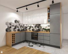 Home Tour Series: Dining & Room Kitchen layout Design Kitchen Design Open, Kitchen Cabinet Design, Interior Design Kitchen, Kitchen Cabinets, Kitchen Walls, Kitchen Modern, Open Kitchen, Kitchen Layout, Kitchen Utensils