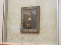 La Joconde Mona Lisa, Louvre, Artwork, Work Of Art, Louvre Doors