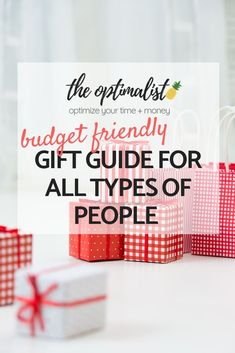 "It can sometimes be a challenge to get gifts for the different people in your life, such as the ""I don't need a gift"" person or the ""get me anything and I'll love it"" person. In some cases, we have people in our lives who are willing to tell us exactly what they want, but for the most part, it's a guessing game. Money Tips, Money Saving Tips, Teen Money, How To Make Money, How To Get, Budgeting Money, Financial Planning, Gifts For Friends"