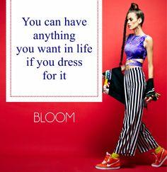 Fashion quote of the day!!! #Delhi #Shopbloom #DelhiFashion #DlfSaket #DlfPromenade #DelhiShopping #Accessories #Apparel #OOTD #Style #ShopTillYouDrop #Bloom #Womenswear #Trendy #Shortandsweet #DelhiDiaries #IndianFashion #DelhiMalls #Fashionable