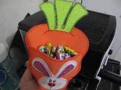 Pascua de resurrección: Zanahoria con conejito