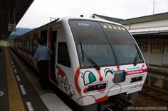 Even the trains are cute in #Japan.  Look! It's an Anpanman train! ;)