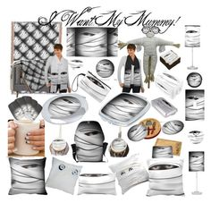 """""""I want my Mummy!"""" by gravityx9 ❤ liked on Polyvore featuring interior, interiors, interior design, home, home decor, interior decorating and Pottery Barn"""