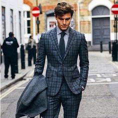 Grey Checks  @bespokegents…